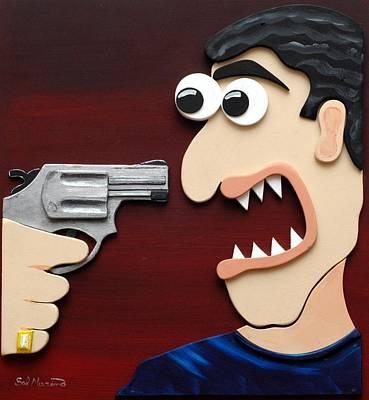 Shut Up Print by Sal Marino