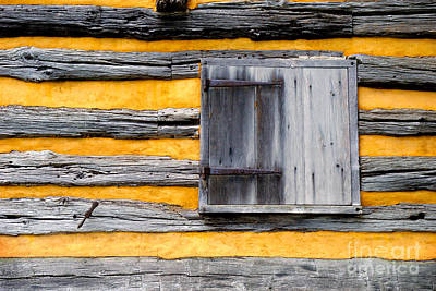 Shuttered Window Print by Paul W Faust -  Impressions of Light