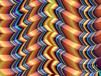Artistic Digital Art - Shutters by John Edwards
