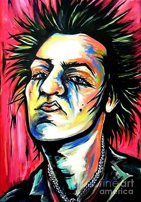 Sid Vicious Original by Amy Belonio