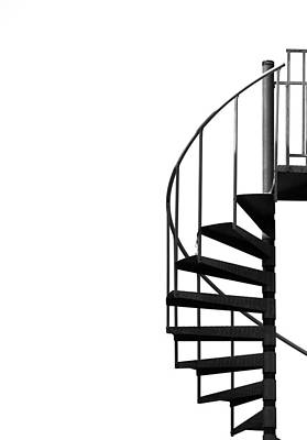 Spiral Photograph - Side Entrance by Evelina Kremsdorf
