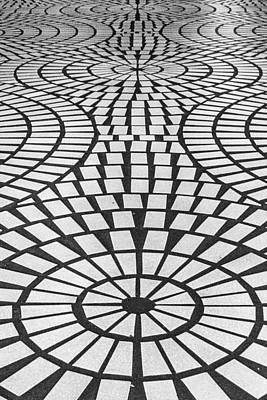 Photograph - Sidewalk Abstract by Bill Gallagher