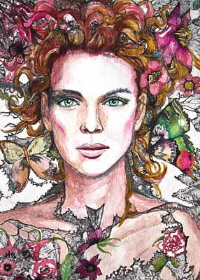 Enchantress Painting - Sidhe by Patricia Allingham Carlson