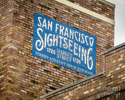 Sightseeing Print by Perry Webster