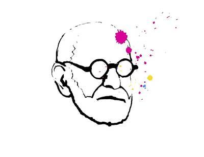 Freud Photograph - Sigmund Freund, Austrian Psychologist by Smetek