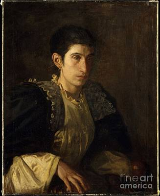 Signora Gomez D'arza Print by Celestial Images