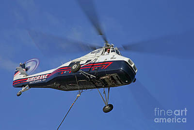Photograph - Sikorsky S-58t by Rick Mann