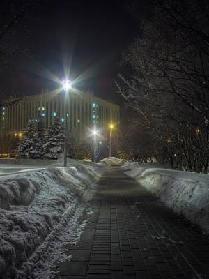 January Photograph - Silent Night by Alexey Kljatov