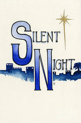 Silent Night Print by Cindy Garber Iverson