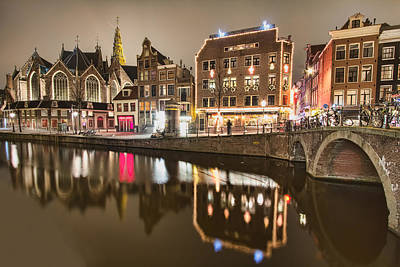 Netherlands Photograph - Silent Night by Nadia Sanowar