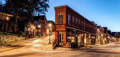 Daviess County Photograph - Silent Streets Of Galena by Matt Hammerstein
