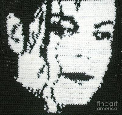 Michaeljackson Tapestry - Textile - Silhouette Mj by Cathy Marina