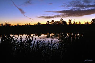 Photograph - Silhouettes Of Sunrise by Kay Lovingood