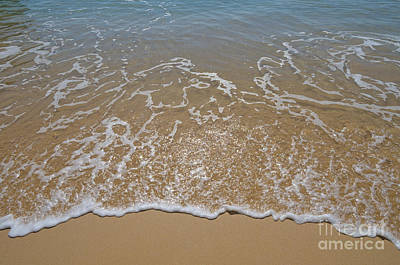 Beach Photograph - Silky Beach Waves by Angelo DeVal