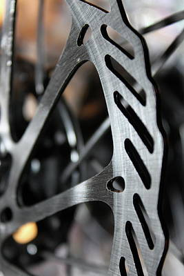 Technical Photograph - Silver Brake by Angie Wingerd