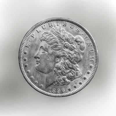 Cartwheel Photograph - Silver Dollar Coin by Randy Steele