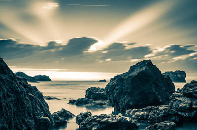 Photograph - Silver Moment by Thierry Bouriat