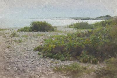Mcentee Painting - Silver Shoreline Westport Ma by Bill McEntee