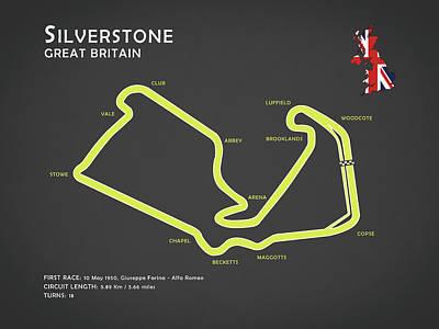 Circuit Photograph - Silverstone by Mark Rogan