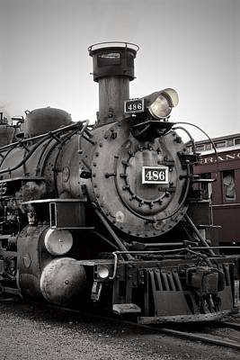 Photograph - Silverton Train by Crystal Magee