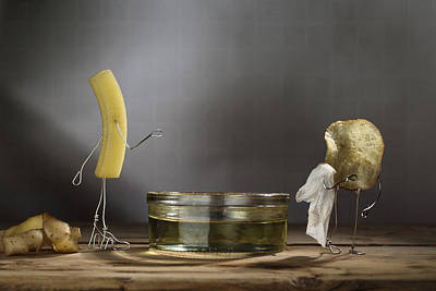 Chip Photograph - Simple Things - Potatoes by Nailia Schwarz