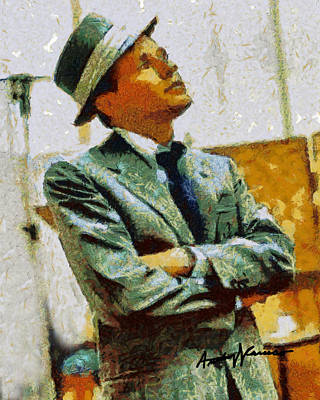 Frank Sinatra Digital Art - Sinatra by Anthony Caruso