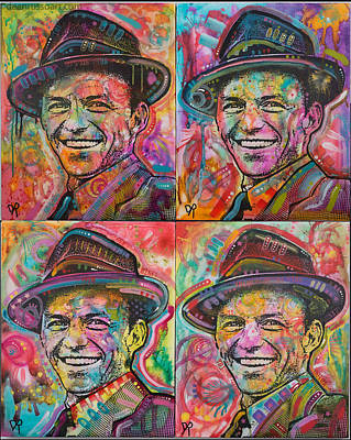 Frank Sinatra Painting - Sinatra by Dean Russo