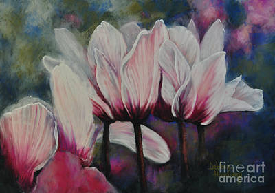 Flower Painting - Sincerely Yours by Debbie Harding