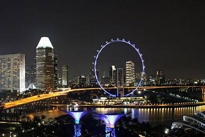 Singapore Eye Print by Diane Height