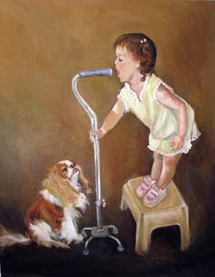 Singin In The Cane Part Two Original by Donna Tucker