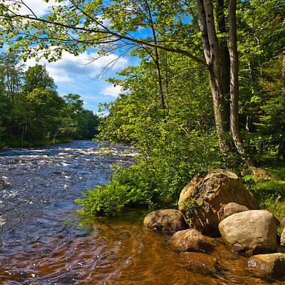 Evergreen Photograph - Singing Waters Rapids by David Patterson