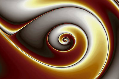 Eggleston Digital Art - Single Gnarl by Mark Eggleston