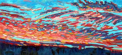 Singleton Sunrise-2013 Original by Phil Chadwick