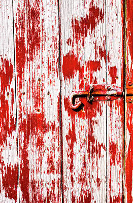 Sinister Country House Details Print by Jorgo Photography - Wall Art Gallery