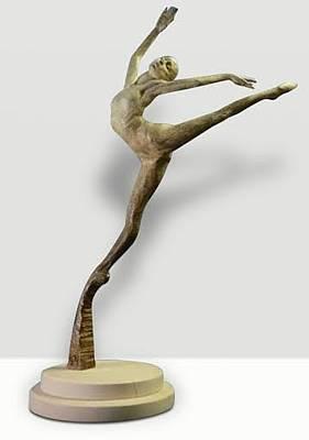 Richard Macdonald Sculpture - Sissone by Richard MacDonald