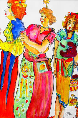 Sisters Original by Claire Sallenger Martin
