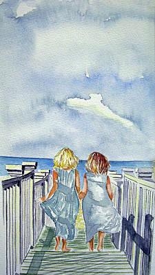 Sisters Print by Paul SANDILANDS