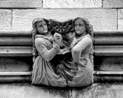 Joseph Duba Photograph - Sisters With A Cause Gargoyle Univ Of Chicago 2009 by Joseph Duba