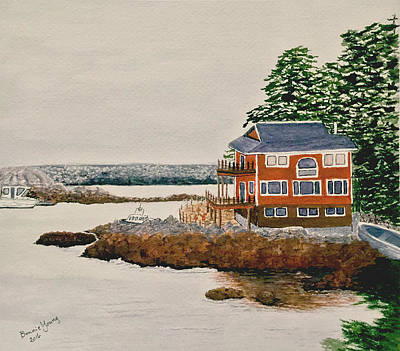 Sitka Painting - Sitka by Bonnie Young