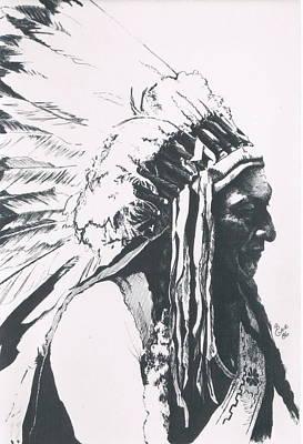 Sitting Bull Original by Barbara Keith