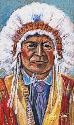 Sitting Bull Print by John Keaton