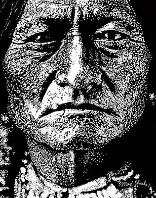 Sitting Bull Original by Max Eberle