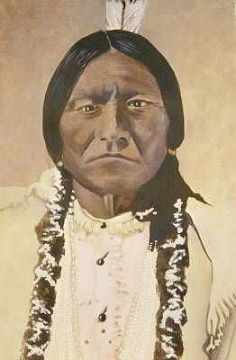 Sitting Bull Original by Terry Honstead