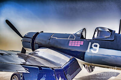 Warbird Mixed Media - Sitting Pretty by James Taylor