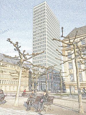 Street Photograph - Sittingbythetower1 by Denvie Green
