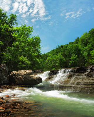 Photograph - Six Finger Falls by Ron McGinnis