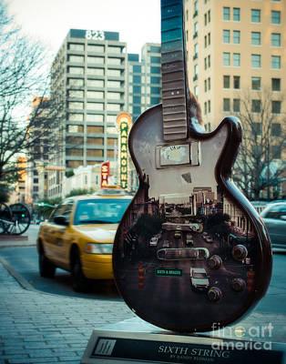 Photograph - Sixth String Austin by Sonja Quintero