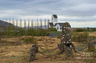 Photograph - Skalholt.. by Nina Stavlund