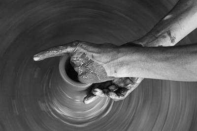 Delicately Photograph - Skc 3465 The Articulate Fingers by Sunil Kapadia