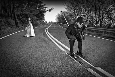Groom Photograph - Skie Or Die! by Kike Balenzategui